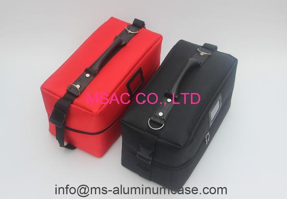 Berufsschönheits-Taschen-rote Farbe für tragen Kosmetik und Schönheits-Ausrüstung